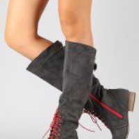Jamie-3 Oxford Knee High Riding Boot
