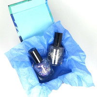 Holo-Glitter Duo - Sirius and Polaris - Gift Set - Free Box - Free Gift Wrapping - Gifts Under 20
