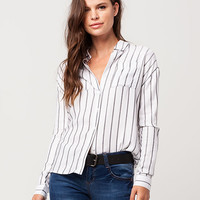 FULL TILT Striped Womens Shirt | Shirts & Flannels