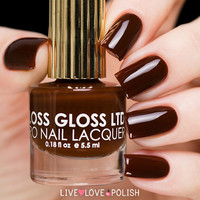 Floss Gloss Blood, Suede & Tears Nail Polish