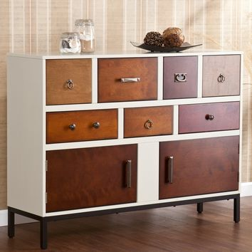 Upton Home Greyson Multi-drawer Console | Overstock.com Shopping - The Best Deals on Coffee, Sofa & End Tables