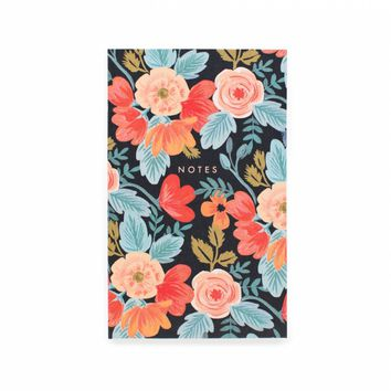 Russian Rose Pocket Notepad by RIFLE PAPER Co. | Made in USA