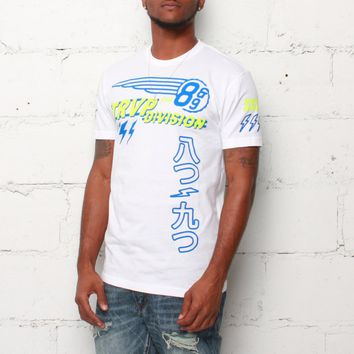 Trap Division Jersey Tee Sprite