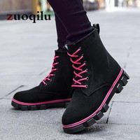 Women Winter Boots 2018 Warm Ankle Boots for Women Martin boots Shoes Women Winter Snow Boots