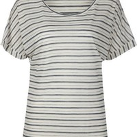FULL TILT Essential Stripe Womens Tee