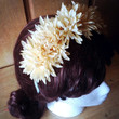Boho, Fall Wedding, Crown, Headband, Cream, Spring, Sage, Gold, Shimmer, Green, Flower Girl, Bride, Hair, Outdoor, Party- Posie Polite