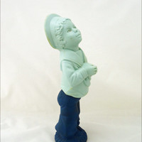 "Vintage Avon ""Fly-a-Baloon"" perfume Bottle, Blue Boy Figurine Decanter, Avon Blue Boy Figurine"