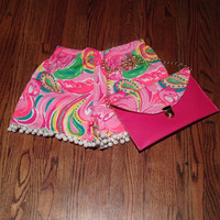 Lilly Pulitzer Multi All Nighter Envelope Clutch