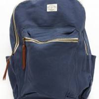 OBEY, Detour Field Backpack - Navy - Accessories - MOOSE Limited
