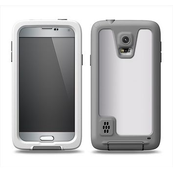 The Chrome Reflective Samsung Galaxy S5 LifeProof Fre Case Skin Set