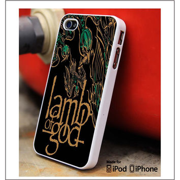 Lamb Of God Band iPhone 4s iPhone 5 iPhone 5s iPhone 6 case, Galaxy S3 Galaxy S4 Galaxy S5 Note 3 Note 4 case, iPod 4 5 Case