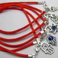 10 pcs Good Luck Kabbalah Black Red String Bracelets & Bangle Turkey Evil Eye Protection Men Women For Gift New Fashion Jewelry