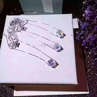 SWAROVSKI  Exquisite crystal square sugar, simple but precious
