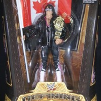 BRET HART - WWE DEFINING MOMENTS 5 WWE TOY WRESTLING ACTION FIGURE