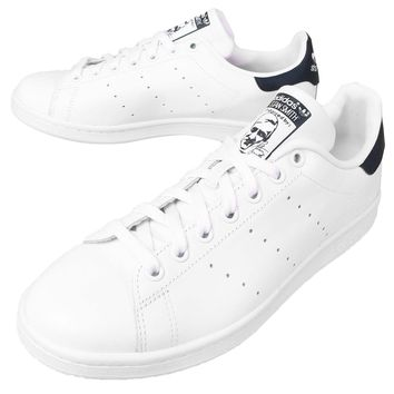 adidas Originals Stan Smith White Navy Men Casual Shoes Sneakers Trainers M20325