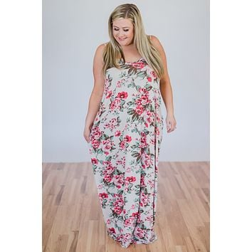 Beach Breeze Maxi Dress- Ivory