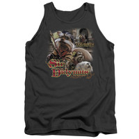 LABYRINTH/SIR DIDYMUS - ADULT TANK - CHARCOAL -