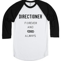 Forever-Unisex White/Black T-Shirt
