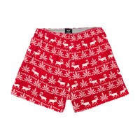 HUF - NORDIC FLANNEL BOXERS // RED