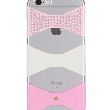 kate spade new york Jeweled Bow iPhone 6/6s Case | Dillards