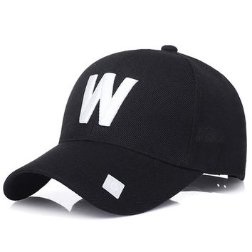 Trendy Winter Jacket KUYOMENS Hot Sell Baseball Caps W Dodgers Embroidery Hip Hop Snapback Hats For Men Women Fitted Hat Gorras Casquette Couple AT_92_12