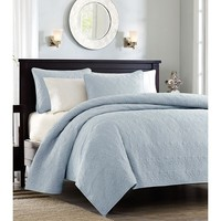 Monterey Light Blue Quilt Set
