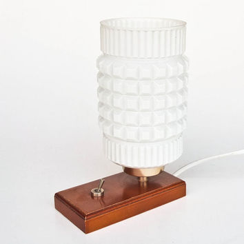 Vintage Table Lamp / Desk Lamp / Bedside Lamp / 60's Retro Decor