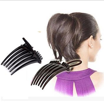 1 pcs Delicate Fashion Style Volume Inserts Hair Clip Bumpits Bouffant Ponytail Hair Comb Rope Headwear Accessories Hot Sale