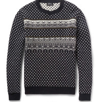 A.P.C. Fair Isle Merino Wool Sweater | MR PORTER
