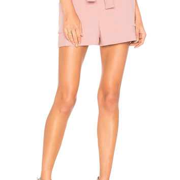 Endless Rose Side Pocket Shorts in Tea Rose