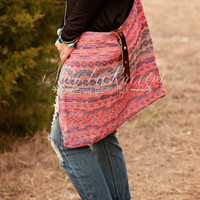 LOVE STITCH : MESSENGER BAG - AURORA