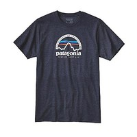 Patagonia Mens Arched Logo Cotton/Poly T-Shirt - Closeout | MasseysOutfitters.com