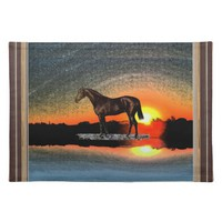 Brown Horse Placemat