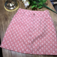 GUCCI Summer new fashion more letter skirt female Red