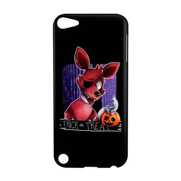 Foxy Pumpkin Five Nights At Freddys Halloween iPod Touch 5 Case