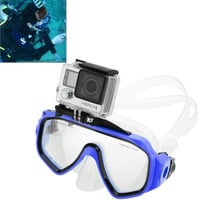 Water Sports Diving Equipment Diving Mask Swimming Glasses with Mount for GoPro Hero 4 / 3+ / 3 /2/1
