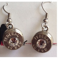 Bullet Dangle Earrings.
