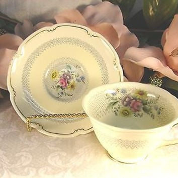 Royal Doulton, China Dinnerware Pattern # V1865 Burnham set 1 Cup and saucer