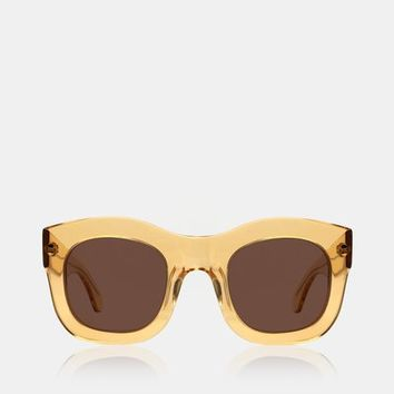 illesteva Hamilton Clear Sunglasses - WOMEN - JUST IN - illesteva - OPENING CEREMONY