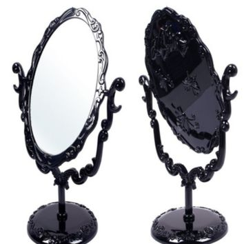 Gothic Victorian Table Top or Make Up Mirror