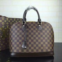 Lv Louis Vuitton Lv Women's Monogram Canvas Handbag Shoulder Bag #38551 - Best Deal Online