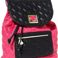 BetseyJohnson.com - WILL YOU BE MINE BACKPACK PINK