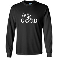 Life Is Good t-shirt Bicycle T-Shirt