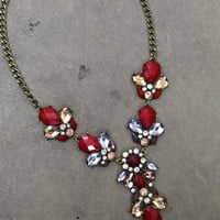 Diamonds & Rubies Necklace