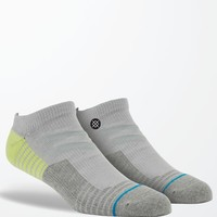 Stance Drill Sergeant Low Socks - Mens Socks - Gray - One