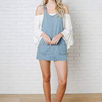 Courtney Denim Overall Dress