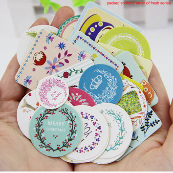 38pcs set DIY Kawaii Girl Cute Animal Paper Sticker Creative Vintage Romantic Love Gift Diary Decor Scrapbooking