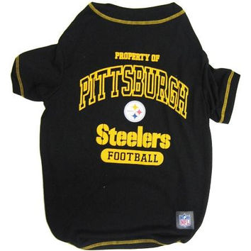 Pittsburgh Steelers Pet Shirt XS
