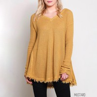 Day-First™ oversize thermal sweater - more colors