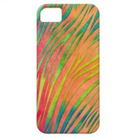 Watercolor Zebra Stripes Pattern iPhone 5 Covers from Zazzle.com